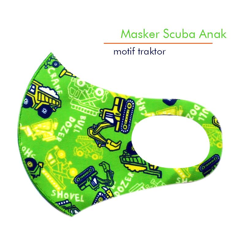 Masker Scuba Printing Anak - EPSILON printing